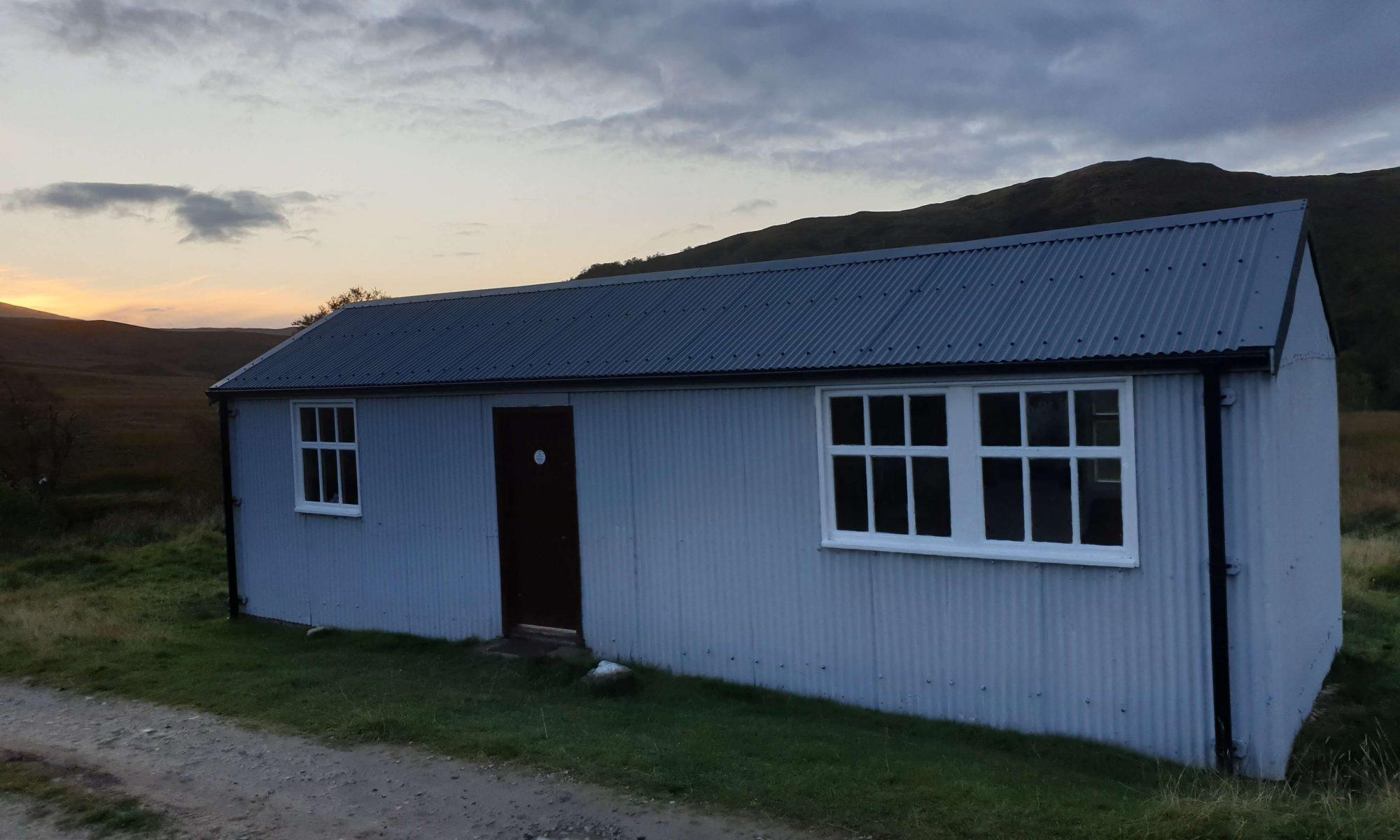 Schoolhouse Bothy Exterior