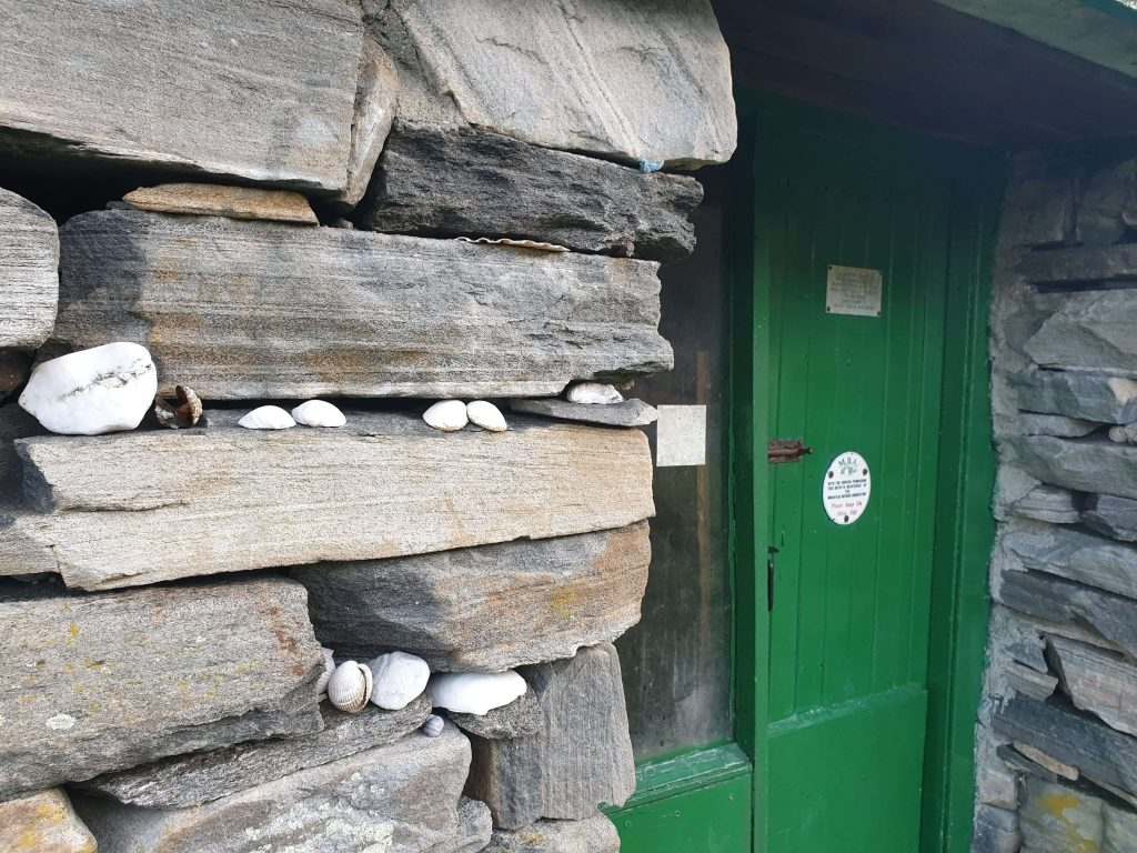 Nice little touches at the entrance to Sourlies Bothy - Knoydart
