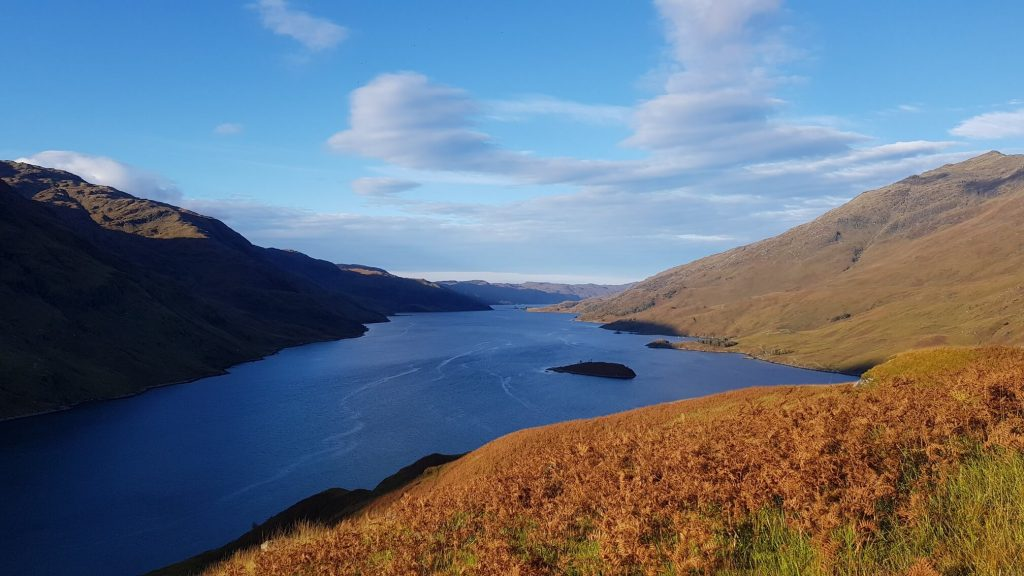 Views over Loch Nevis from the ascent of Sgurr Na Ciche, our 4th of the Knoydart Munros