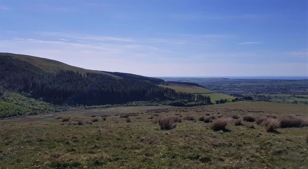 Views on the ascent of Flat Fell