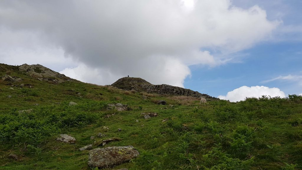 Approaching Whiteside Pike, the first summit of the Bannisdale Horseshoe