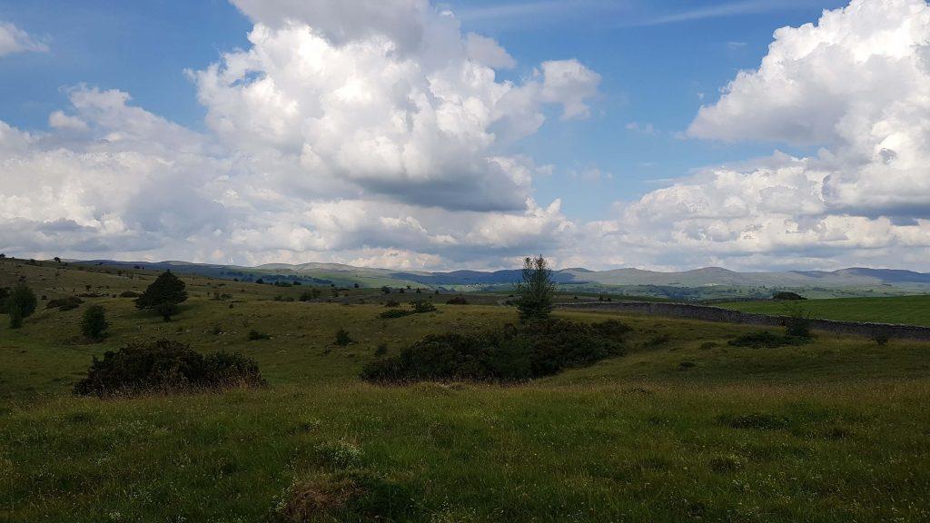 View ascending Cunswick Scar
