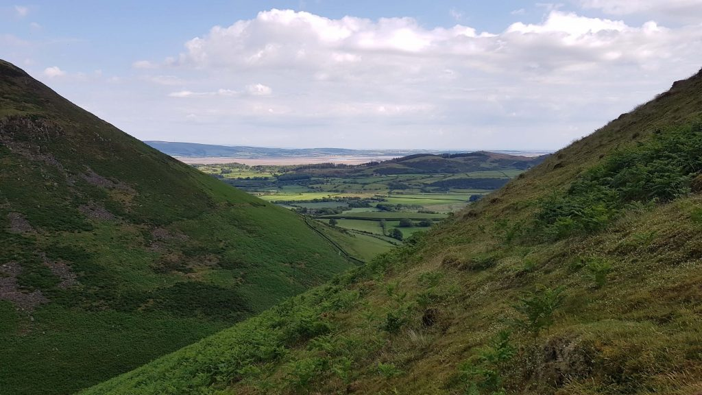 Views on the descent of Black Combe