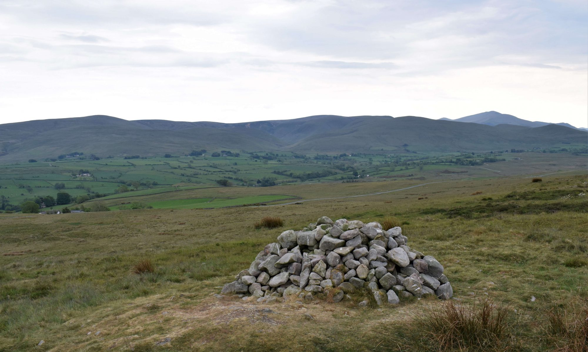 View from the summit of Faulds Brow, a Wainwright Outlying Fell in the northern Lake District