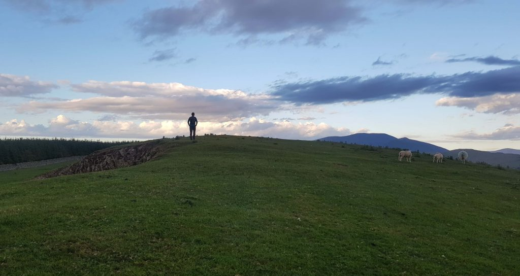 James Forrest ascending Watch Hill