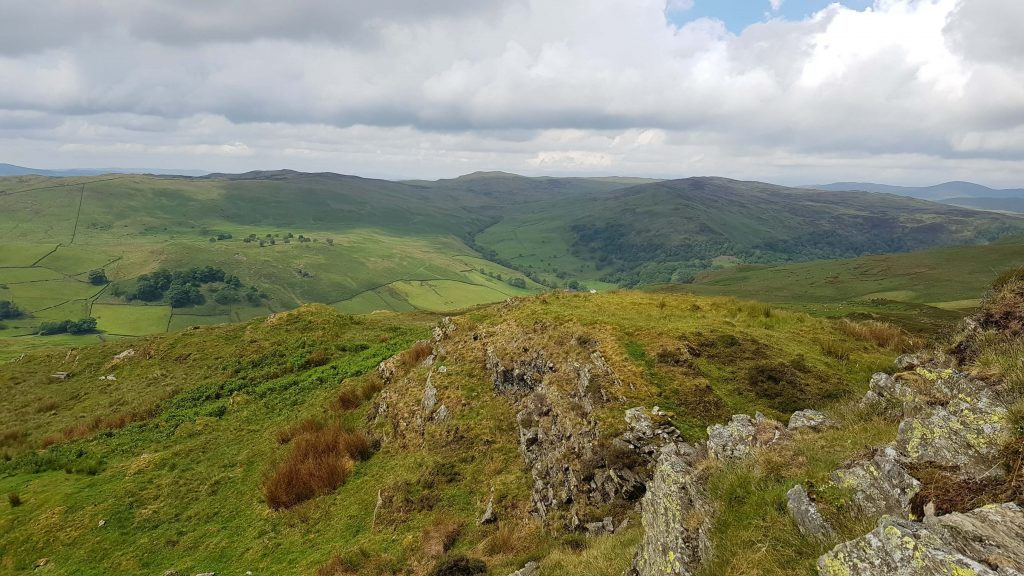 Views close to the summit of Whiteside Pike