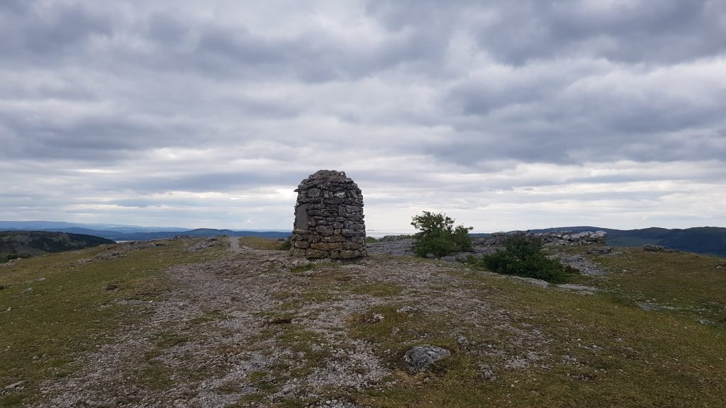 The large cairn on Whitbarrow