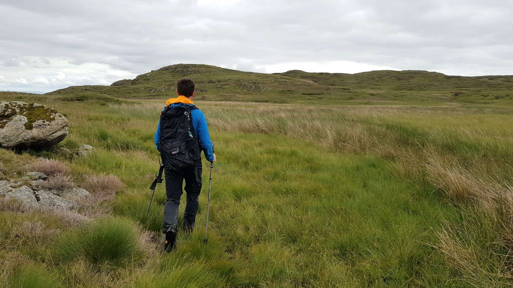 James Forrest en route to Great Saddle Crag in the Shap Fells