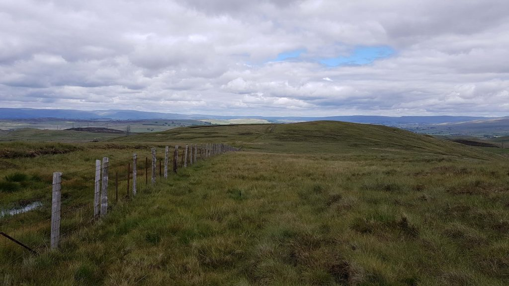 Views on the final descent of the Shap Fells route
