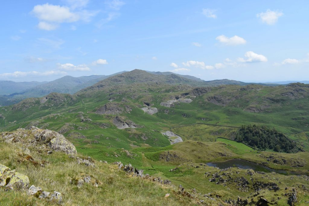 Looking to Caw from Stickle Pike