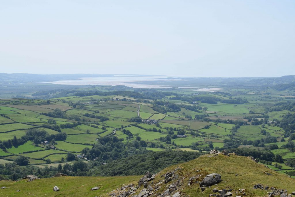 Duddon Sands from The Knott