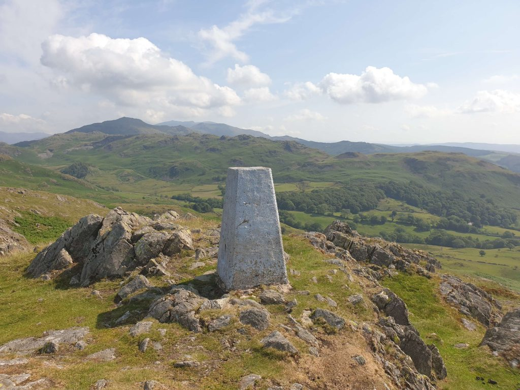 The trig pillar on Great Stickle
