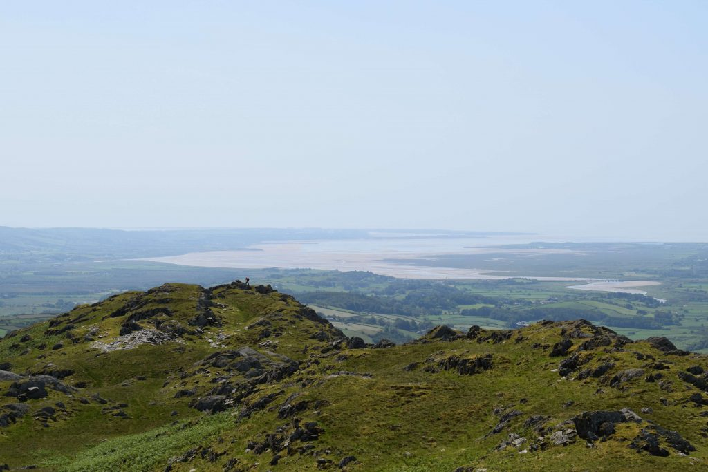 View to Duddon Sands from Raven's Crag