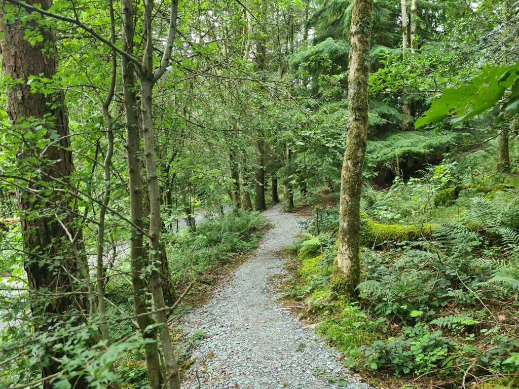 The intermittent footpath