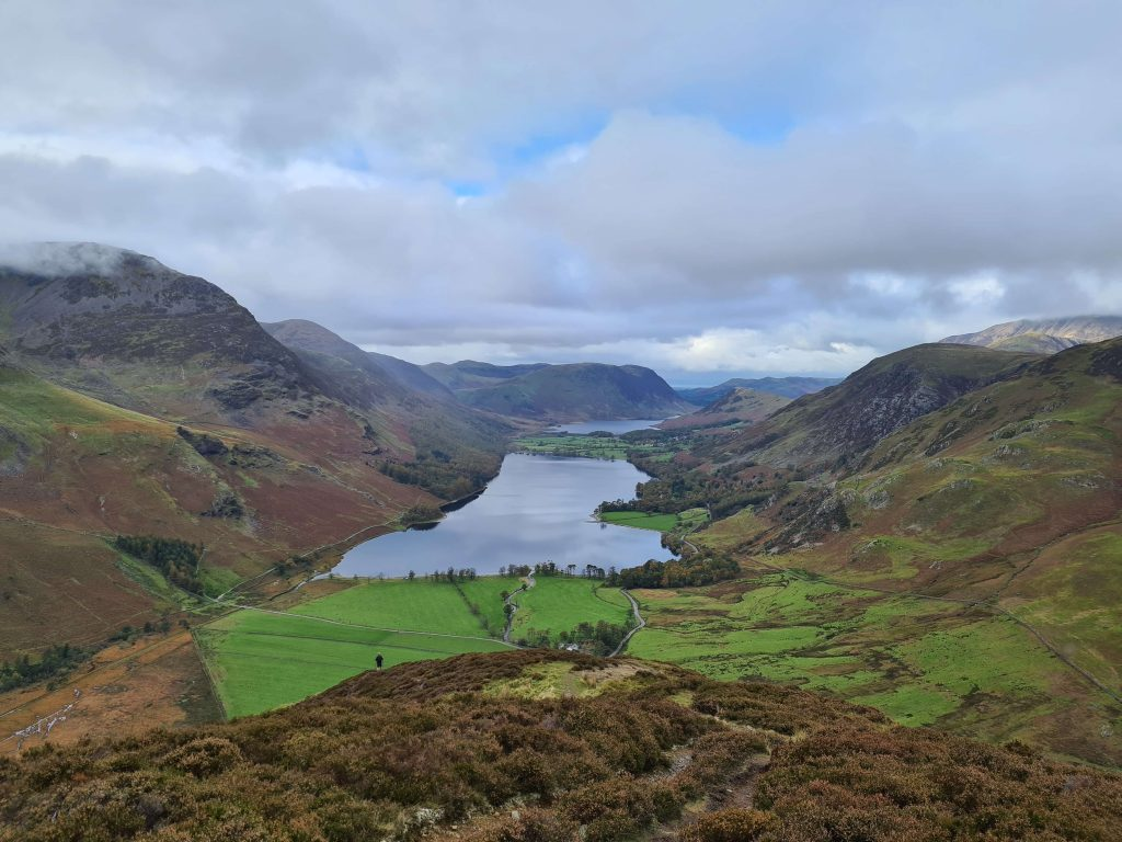 The view from Fleetwith Pike, an added peak on #WalkHome2020