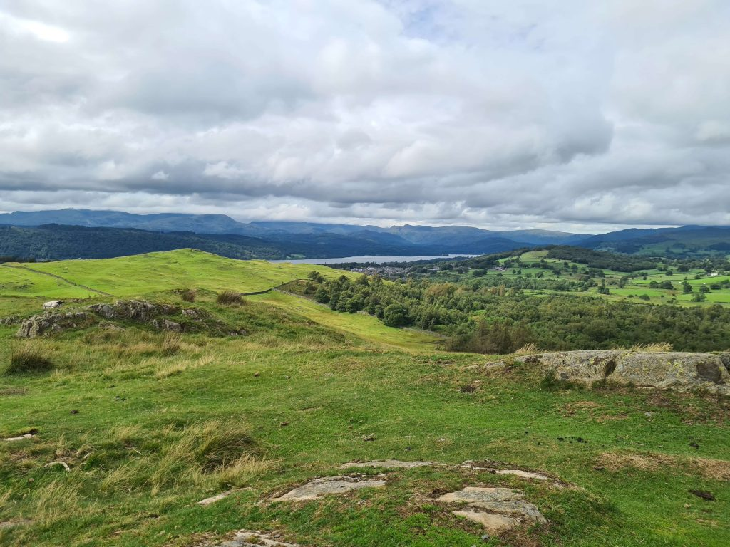 Views to Windermere from Grandsire