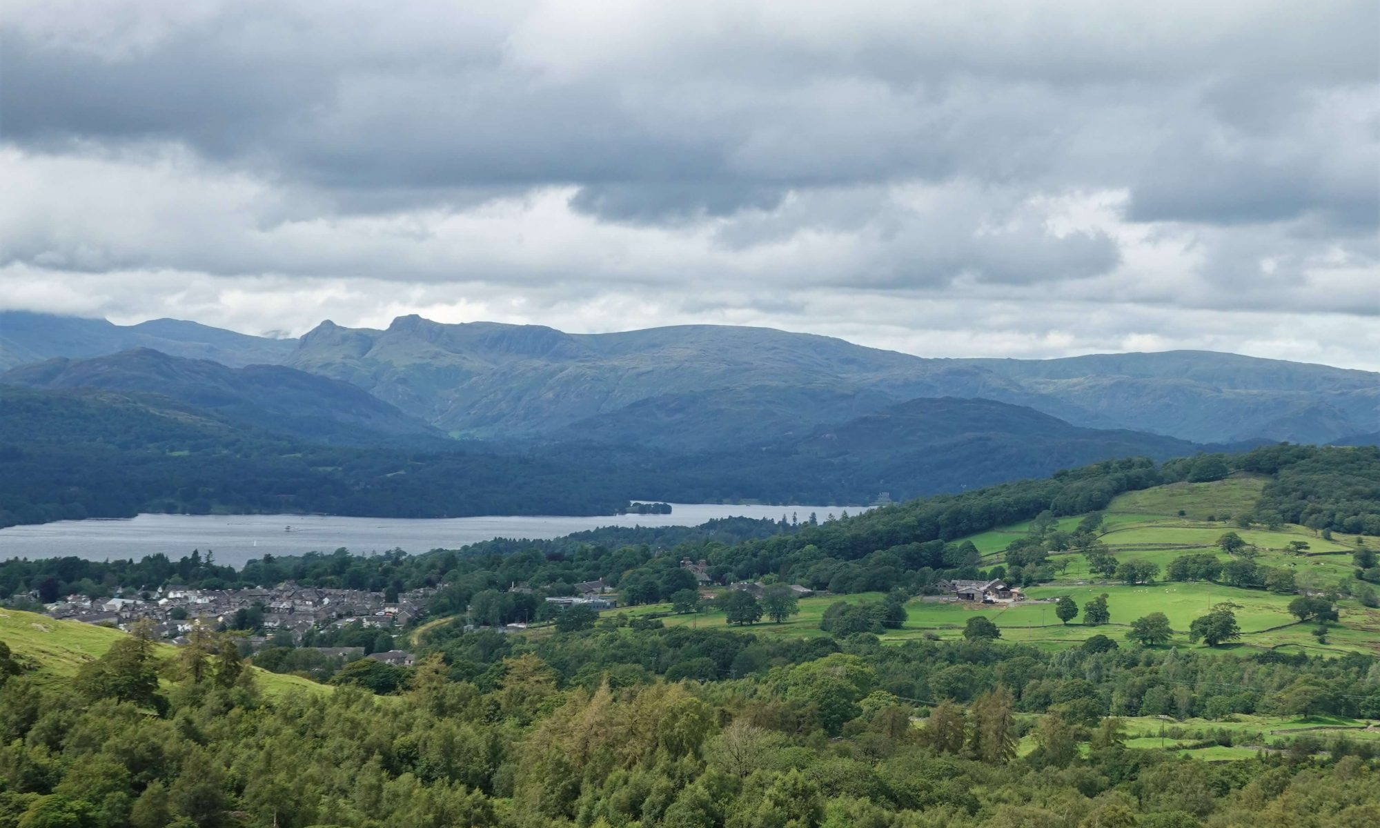 View from Grandsire over Windermere