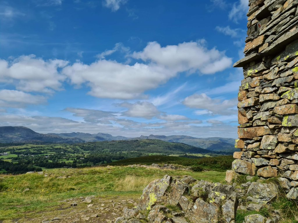 Summit of Latterbarrow, an Outlying Fell of Lakeland