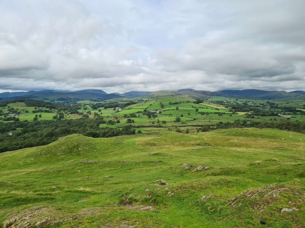 Summit views from School Knott, The Lake District