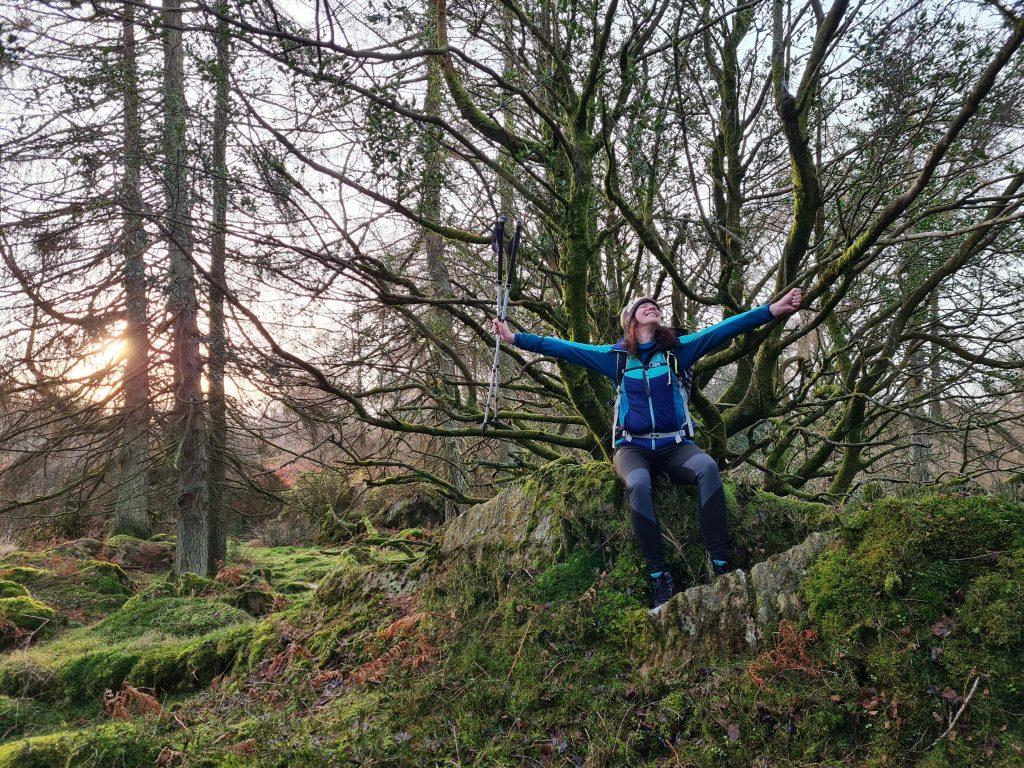 Adventurer Nic on Finsthwaite Heights