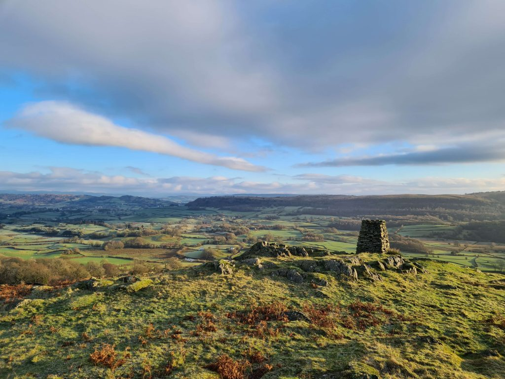 View from Raven's Barrow - Cartmel Fell