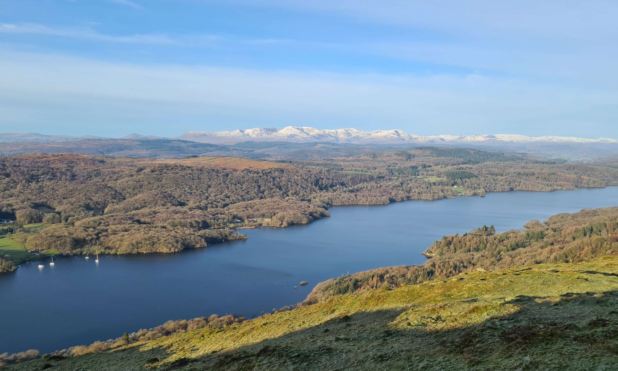 Gummer's How view to Windermere and the Coniston Fells