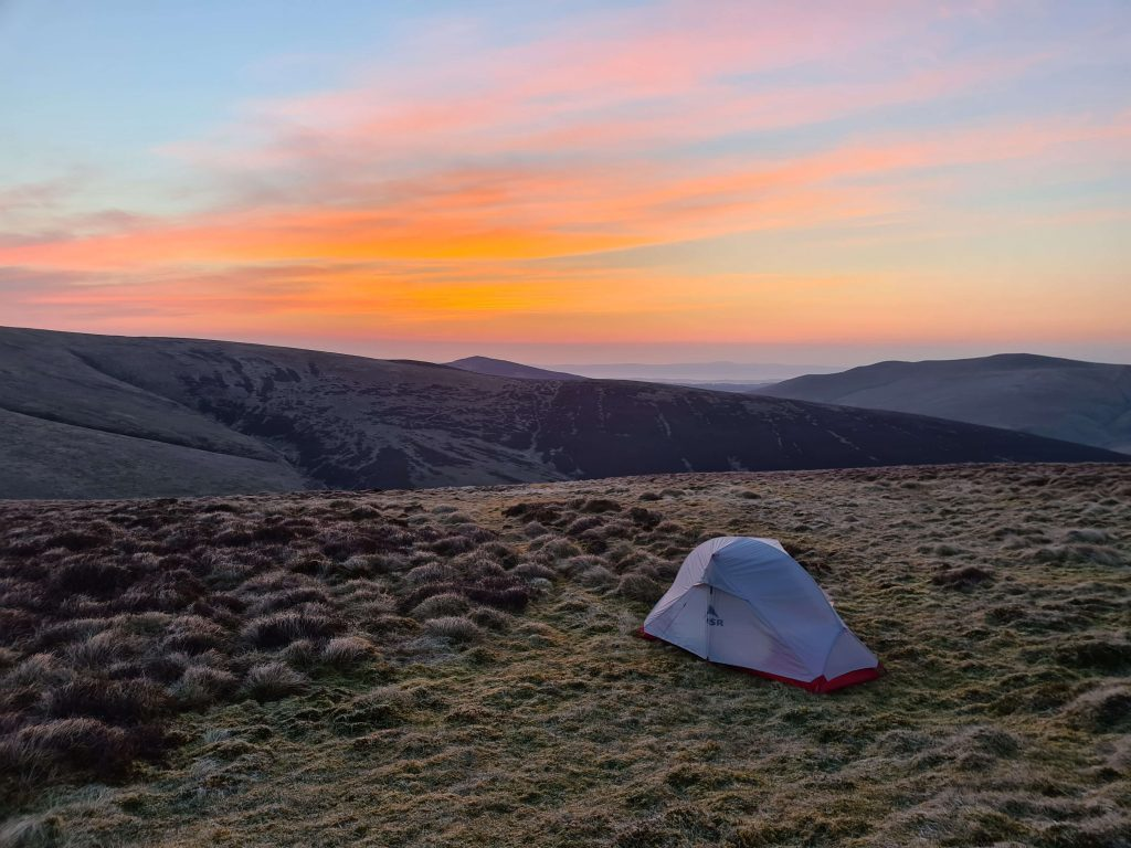 Wild Camping in Back O Skiddaw